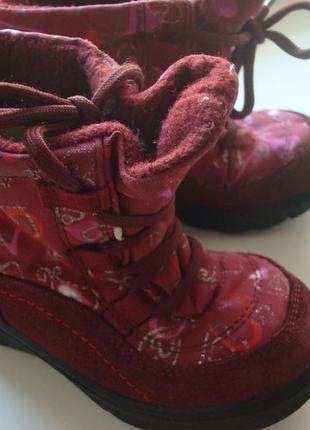 Зимние термо ботинки superfit мембрана gore-tex, р.23, стелька 14,5 см