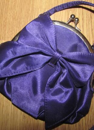 Фиолетовый клатч😍