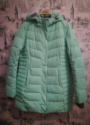 Зимняя удлинённая термо куртка freever