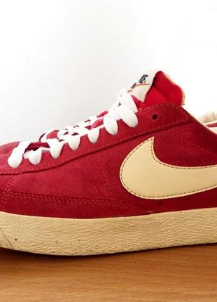 sports shoes aa626 4c7bb ... canada nike blazer low suede fusion red 5 1dc1b 85577