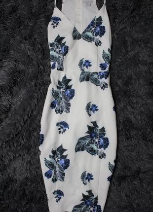 Платье миди h&m, размер s