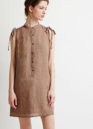Легкое хлопковое летнее платье forever21 - s