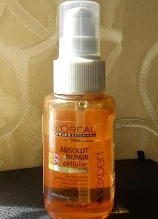 L'oreal professionnel absolut repair lipidium nourishing serum сыворотка.