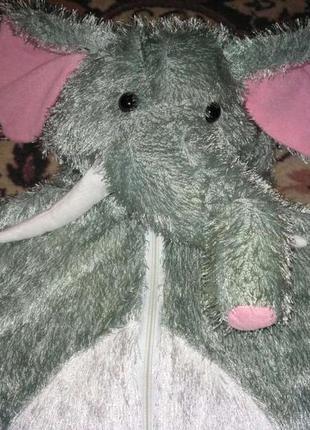 Новогодний костюм слона на 7-9 лет