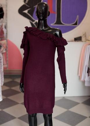 Большая расспродажа!!! шерстяное нарядное вязаное платье от sewel