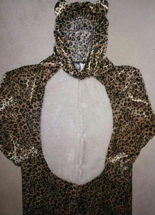 Новогодний костюм леопард