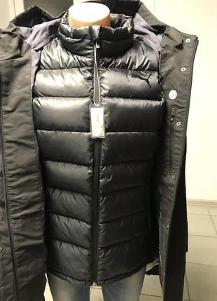 Куртка 3 в 1 оригинал puma transform 480 protect down
