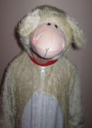 Новогодний костюм овечка на 5-6 лет