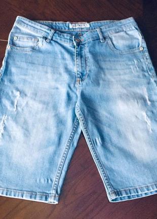 Джинсовые шорты для подростка dirk bikkembergs