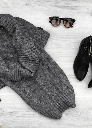 Крутой свитер/джемпер с коротким рукавом с мохера италия