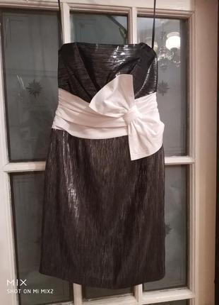 Шикарное вечернее платье max azria