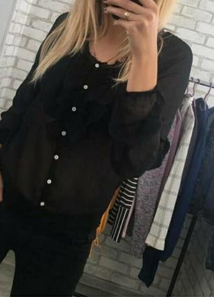 Полупрозрачная блуза от  gloria jeans