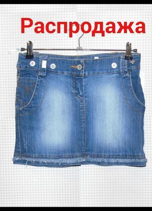 Юбка джинсовая короткая la bella