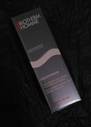 Крем для сухой кожи лица biotherm aquapower soin oligo-thermal care dry skin 75ml