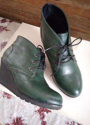 Ботинки утепленные р 38