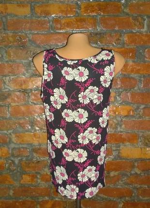 Топ блуза кофточка с цветочным принтом papaya2
