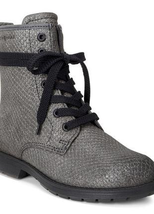 Ботинки высокие ecco bendix junior зимові оригінал