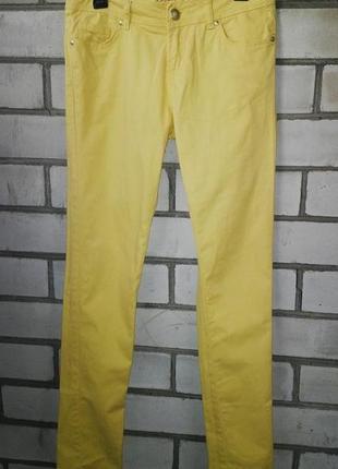 Желтые джинсы(штаны) denim co