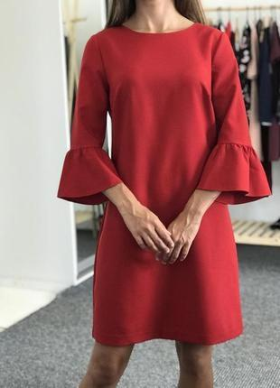 Красное платье papaya