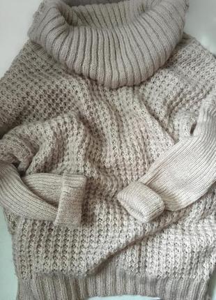 Теплый свитер оверсайз new look