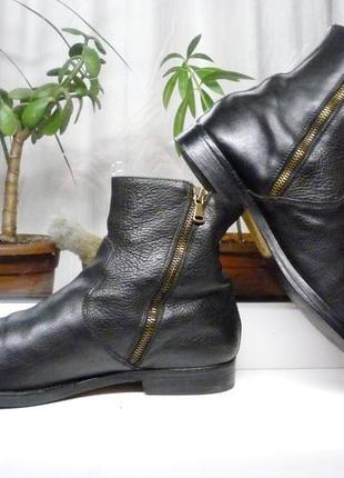 """Кожаные мягкие и очень прочные ботинки """"dominici"""" италия 44 р."""