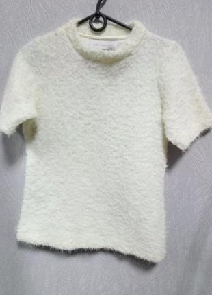Кофта, свитер с коротким рукавом zara