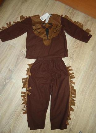Карнавальный костюм на хеллоуин george новый с биркой на 3-4 года.
