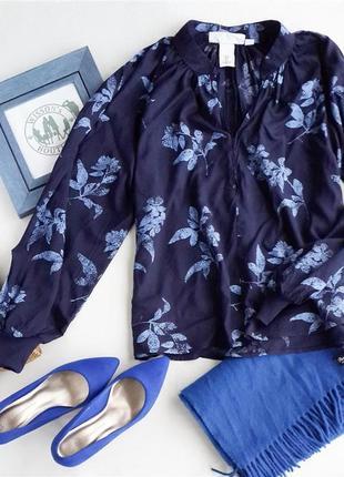 Свободная легкая блуза h&m