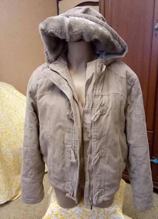 Вельветовая курточка от new look, 18 размер