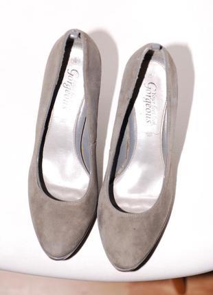 Туфли new look серые