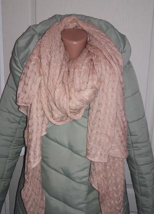 Большой теплий шарф h&m