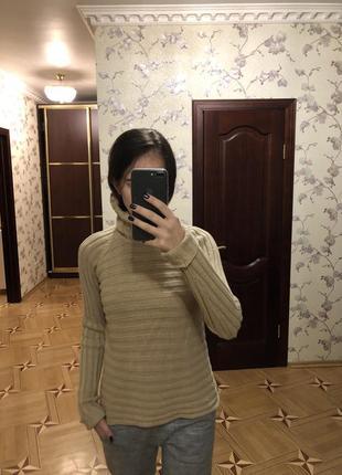 Тёплый свитер с кашемиром  fabiani