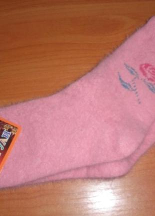Носки ангора для девочки подростковые. р.32-36 (закрытие магазина)