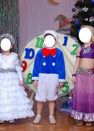 Снеговик - карнавальный костюм