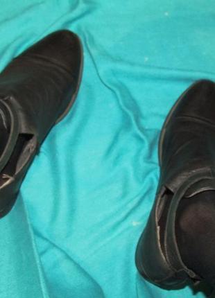Туфли ботинки 100% натуральная кожа!