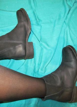 Ботинки кожа плотная натуральная!
