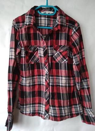 Рубашка h&m 146cм 10-11лет