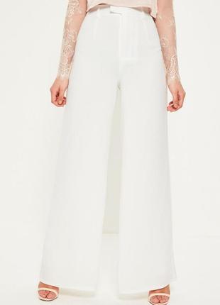 Крутые широкие брюки на подкладке