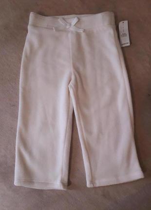 Тепленькие флисовые штаны, брюки, лосины.