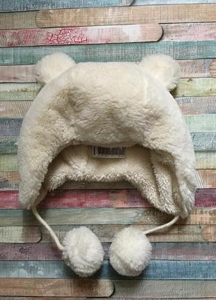 Шапка мишка зимняя