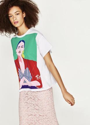 Крутая футболка zara