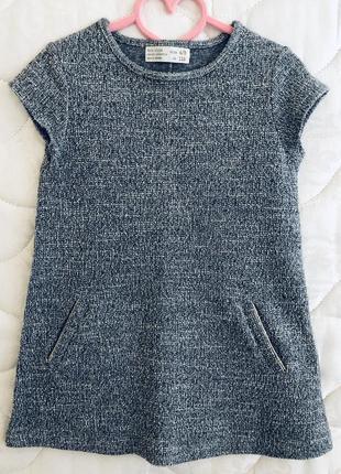 Сарафан платье zara 4/5 лет, 110 см