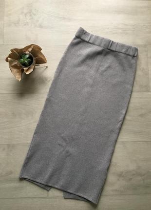 Облегающая юбка резинка