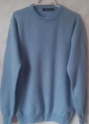 Шерстяной свитер 100% шерсть woolmark 16-18р.