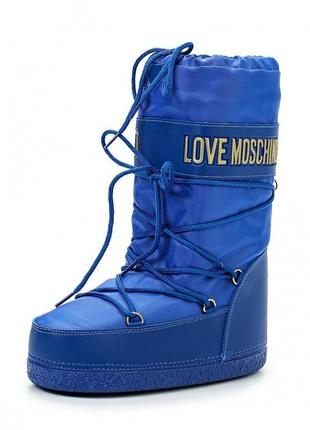 Сапоги love moschino moon boots луноходы