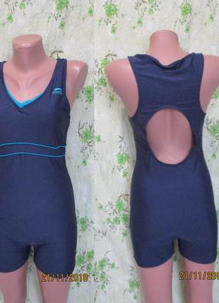 Спортивный купальник/для бассейна/слитный шортиками 46-48 размер slazenger