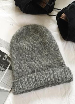 Шерстяная шапка 70% альпака