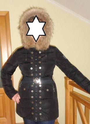 Bogner пальто на пуху ,пуховик р.м