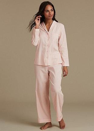 Хлопковая котоновая пижама m&s