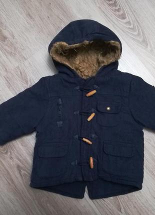 Теплая куртка/парка на мальчика/девочку еврозима!